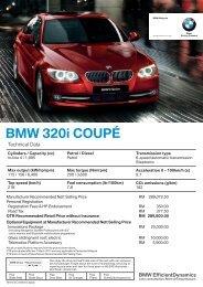 Download Spec. Sheet - BMW - Lee Motors Auto Care