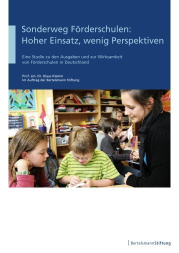 Sonderweg Förderschulen: Hoher Einsatz, wenig Perspektiven