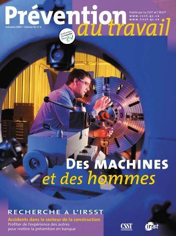 Prévention Printemps2004-4 - CSST