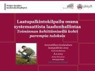 Laatupalkintokilpailu osana systemaattista laadunhallintaa (pdf)