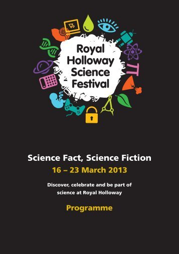 Science Fact, Science Fiction - Royal Holloway, University of London
