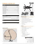 TOWABLE BOOM LIFT - Lectura SPECS - Page 2