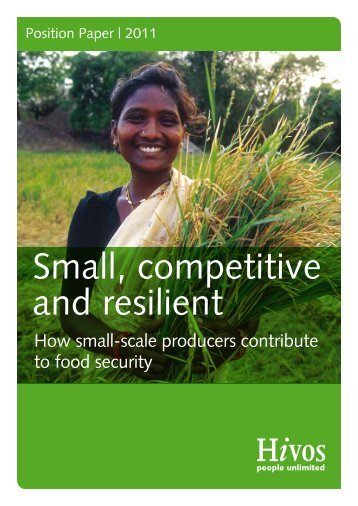 Small, competitive and resilient - Hivos