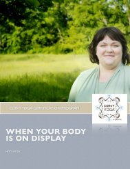 WHEN YOUR BODY IS ON DISPLAY - Curvy Yoga