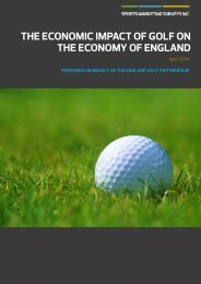 library-media\documents\The Economic Impact of Golf on the Economy of England
