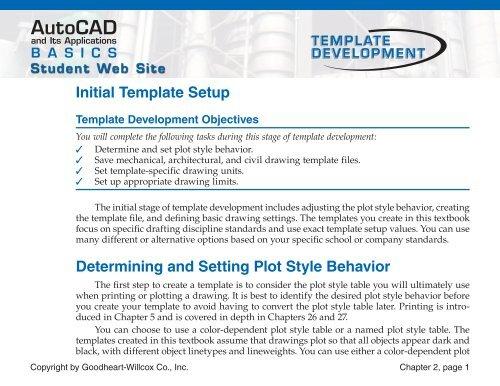 Initial Template Setup (PDF)
