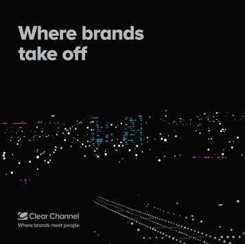 Airport Brochure - Clear Channel