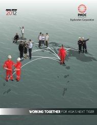 2012 Annual Report - PNOC Exploration Corporation