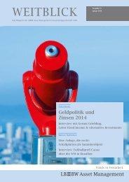 WEITBLICK - LBBW Asset Management Investmentgesellschaft mbH