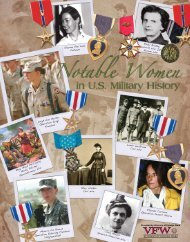 Women in Military History Posters - Veterans of Foreign Wars