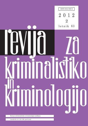 Revija 2, 2012 - Ministrstvo za notranje zadeve