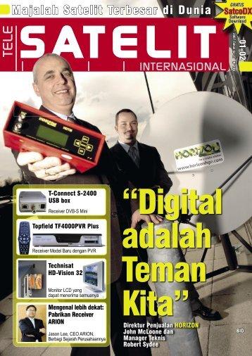 Page 1 TELE S AT E L I T - TELE-satellite International Magazine