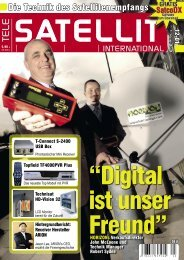 Expertenmeinung - TELE-satellite International Magazine