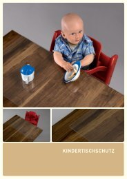 Kindertischschutz Flyer - Solid