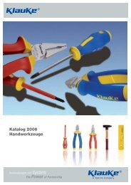 Handwerkz Kap1 VDE Zangen 20070125.indd - hapewe-technik e.K.