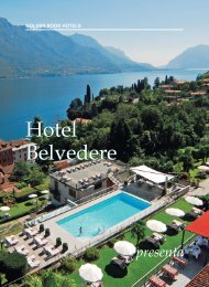 eBook Hotel Belvedere - Golden Book Hotels