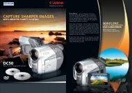 CAPTURE SHARPER IMAGES - Canon in South and Southeast Asia
