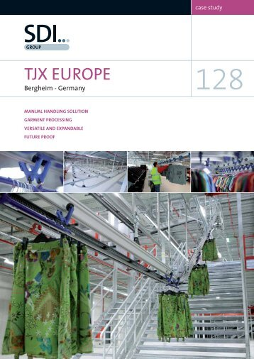 Case Study 128 - TJX, Bergheim, Germany - Sdi Group UK