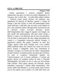 Leggere il mio articolo sul viaggio a Firenze e Pisa