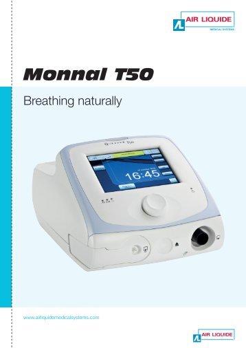 Newport ht50 Ventilator Manual