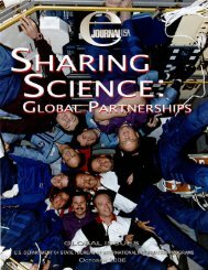 Sharing Science: Global Partnerships - Embassy of the United States