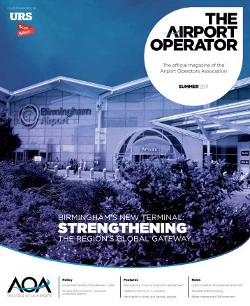 Summer magazine 2001 - The Airport Operators Association