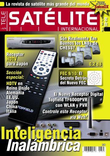 Controle este Receptor vía Web! - TELE-satellite International ...