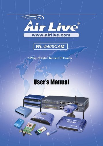 WL-5400CAM - Airlive