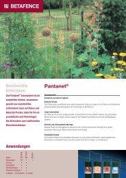 Pantanet® - Zaunsysteme