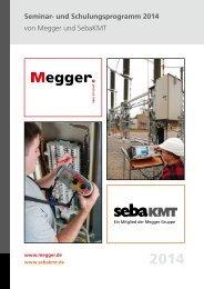 MPS-Seminar-Katalog 2014 - Megger-Quality-Seminare