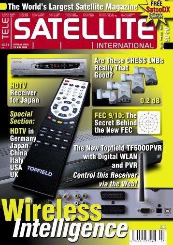 The World's Largest Satellite Magazine - TELE-satellite International ...