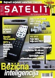 Najveći svjetski satelitski časopis - TELE-satellite International ...