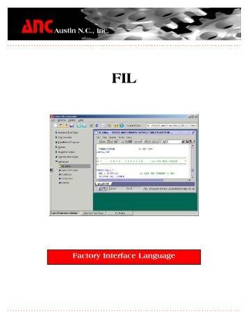 Factory Interface Language