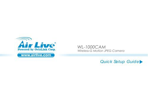 DRIVER UPDATE: AIRLIVE WL-1000CAM