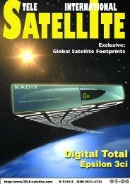 Bestellen Sie diesen Satelliten- Newsletter! - TELE-satellite ...