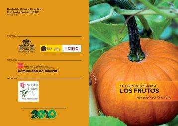 LOS FRUTOS - Real Jardín Botánico