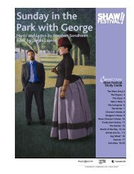 Sunday in the Park with George Music and Lyrics by Stephen ...