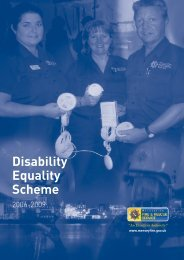 Disability Equality Scheme - Merseyside Fire and Rescue Service