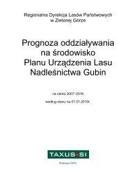 Prognoza Gubin - Państwowe Gospodarstwo Leśne LASY ...