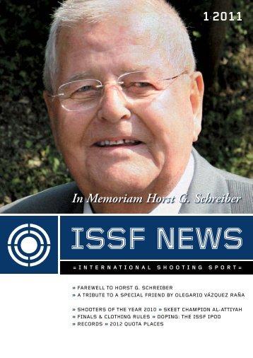 1:2011 In Memoriam Horst G. Schreiber