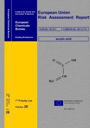European Risk Assessment Report - ESIS - Europa