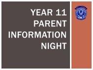 2013 Year 11 Parent Information Night.pdf