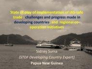 presentation - Standards and Trade Development Facility
