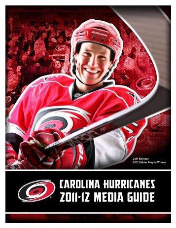 2011-12 MEDIA GUIDE - Carolina Hurricanes - NHL.com