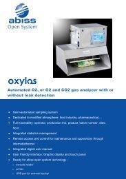 Brochure for Abiss Oxylos - ATI Corp