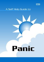 What is a panic attack? - NHS Manchester