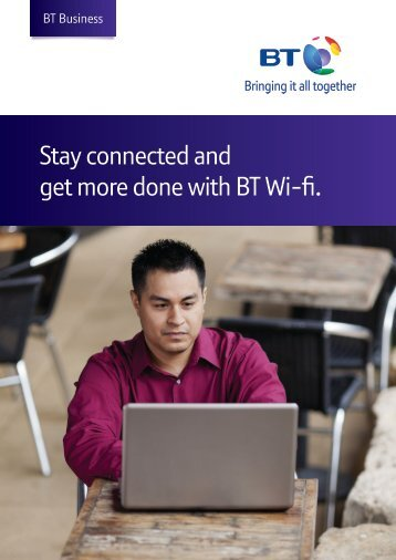 Read more about how to make use of BT Wi-fi hotspots - BT Business