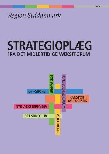 Strategioplæg 7.4.06.indd - Erhvervsstyrelsen