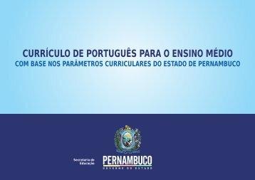 Português (Ensino Médio) - Secretaria de Educação de Pernambuco