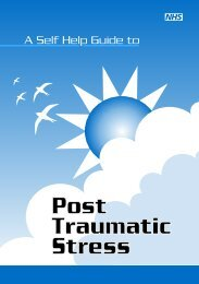 Post Traumatic Stress - NHS Manchester